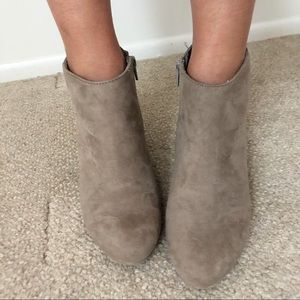 Suede Express Ankle Boot